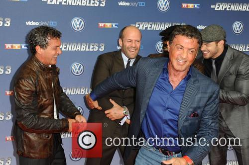 Antonio Banderas, Wesley Snipes, Jason Statham, Sylvester Stallone and Kellan Lutz 3