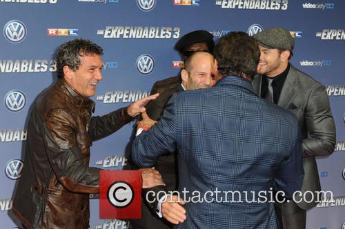 Antonio Banderas, Wesley Snipes, Jason Statham, Sylvester Stallone and Kellan Lutz 4