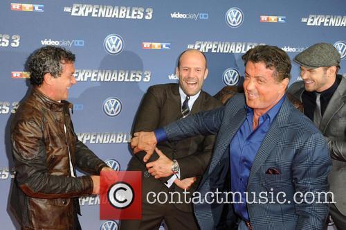 Antonio Banderas, Wesley Snipes, Jason Statham, Sylvester Stallone and Kellan Lutz 6