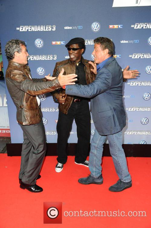Antonio Banderas, Wesley Snipes and Sylvester Stallone 7