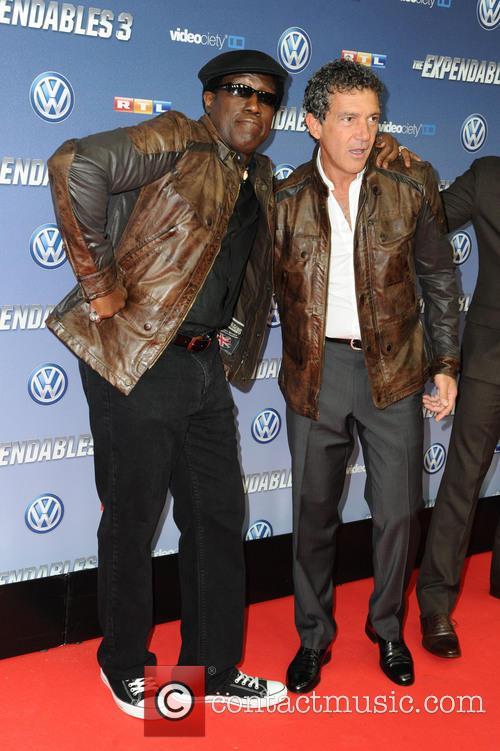 Wesley Snipes and Antonio Banderas 2