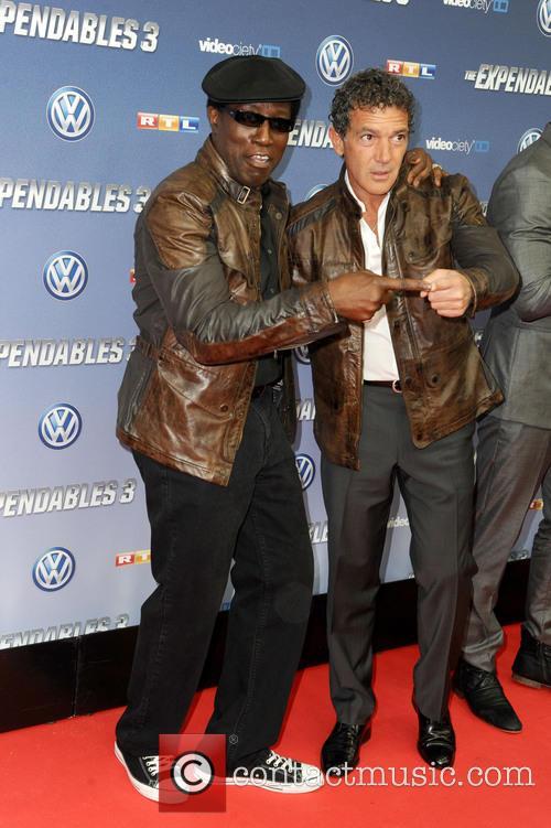 Wesley Snipes and Antonio Banderas 3