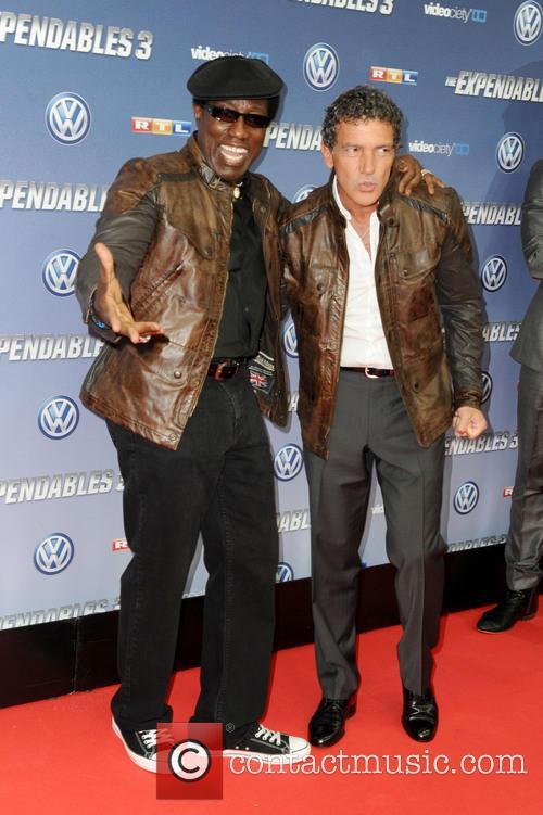 Wesley Snipes and Antonio Banderas 4