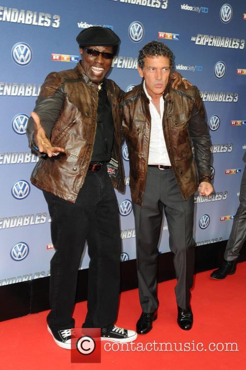 Wesley Snipes and Antonio Banderas 1