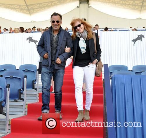 Bruce Springsteen and wife cheer on daughter at...