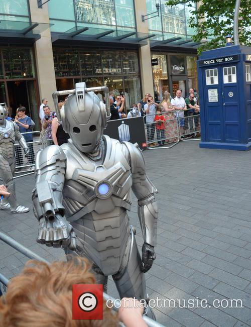 Doctor Who and Cyberman 11