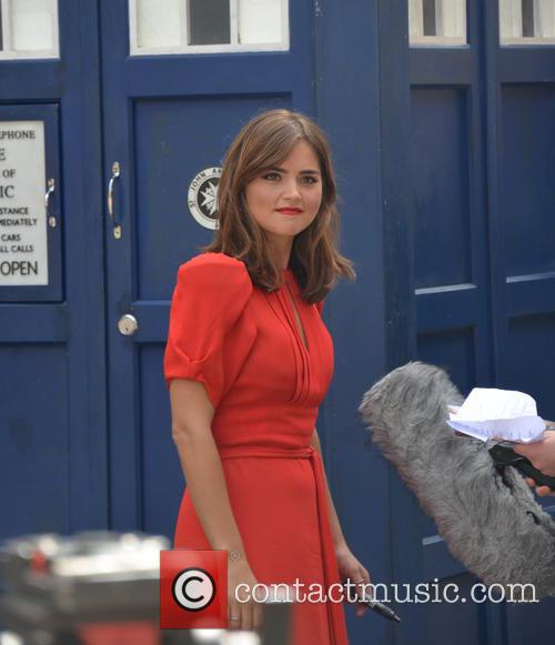 Doctor Who and Jenna Coleman 9