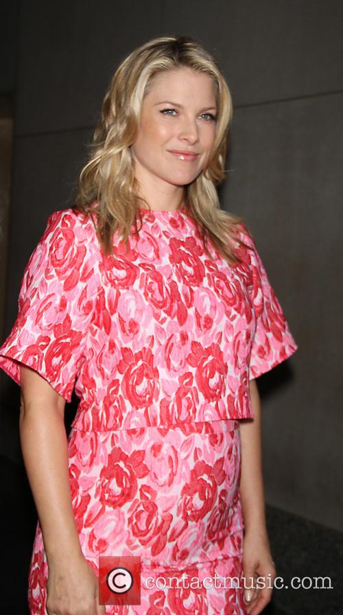 Pregnant Ali Larter at 'The Today Show' to...