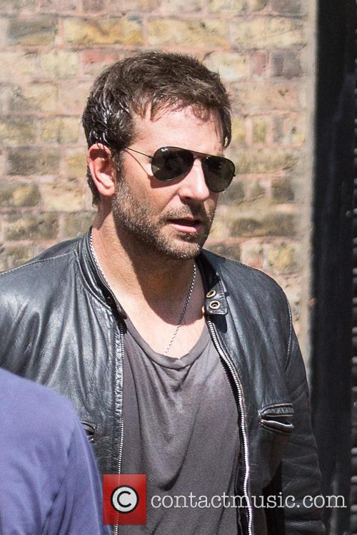 Bradley Cooper leaving the 'Adam Jones' film set