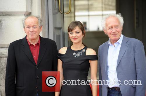 Jean-pierre Dardenne, Marion Cotillard and Luc Dardenne 2
