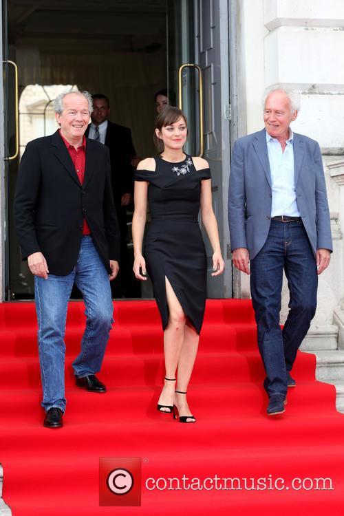 Jean-pierre Dardenne, Marion Cotillard and Luc Dardenne 3