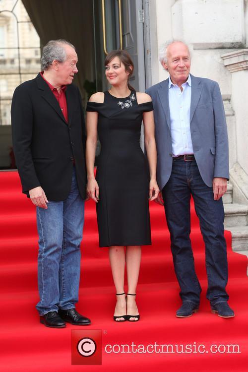 Jean-pierre Dardenne, Marion Cotillard and Luc Dardenne 5