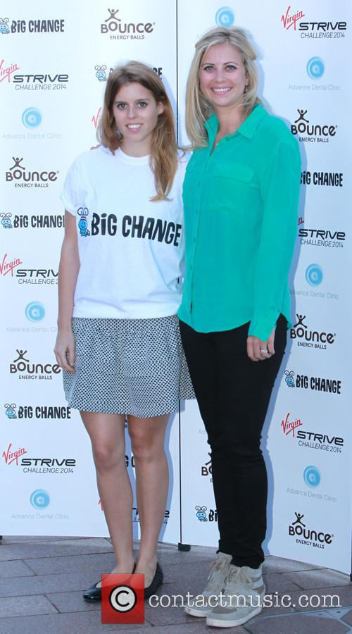 Holly Branson and Princess Beatrice 11