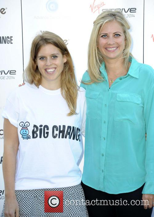 Princess Beatrice and Holly Branson 1