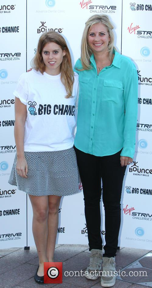 Princess Beatrice and Holly Branson 2