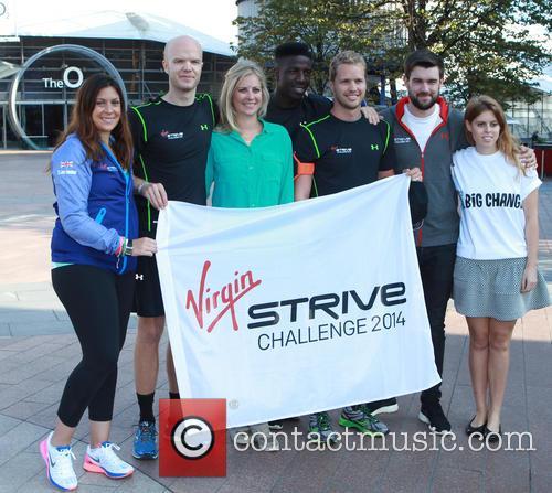 Marion Bartoli, Sam Branson, Holly Branson, Noah Branson, Jack Whitehall and Princess Beatrice 3