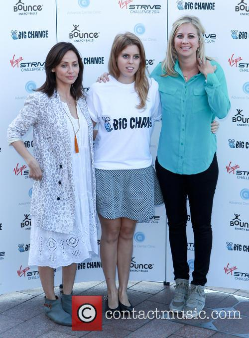 Natalie Imbruglia, Princess Beatrice and Holly Branson 11