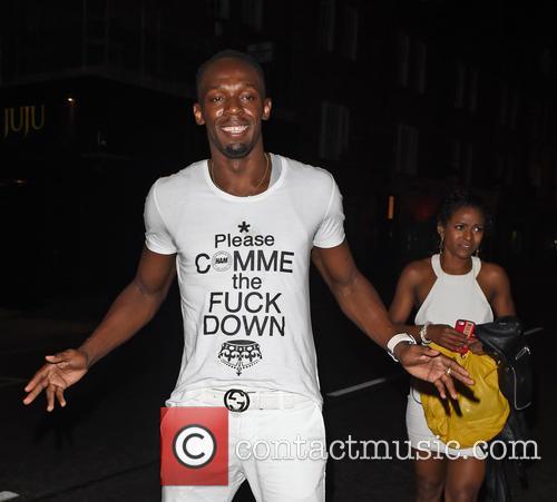 Usain Bolt clubbing till 5am