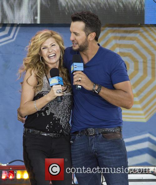 Connie Britton and Luke Bryan 2