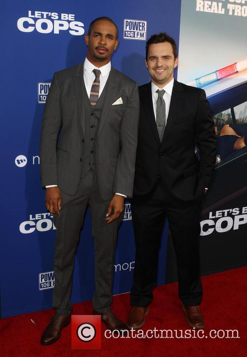 Damon Wayans Jr. and Jake Johnson 6