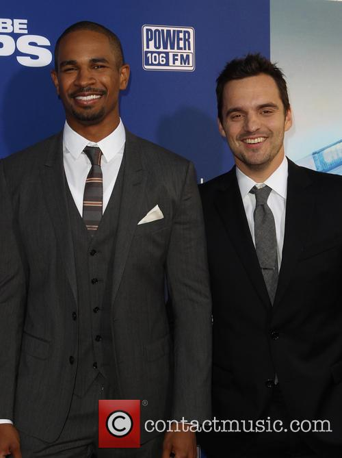 Damon Wayans Jr. and Jake Johnson 8