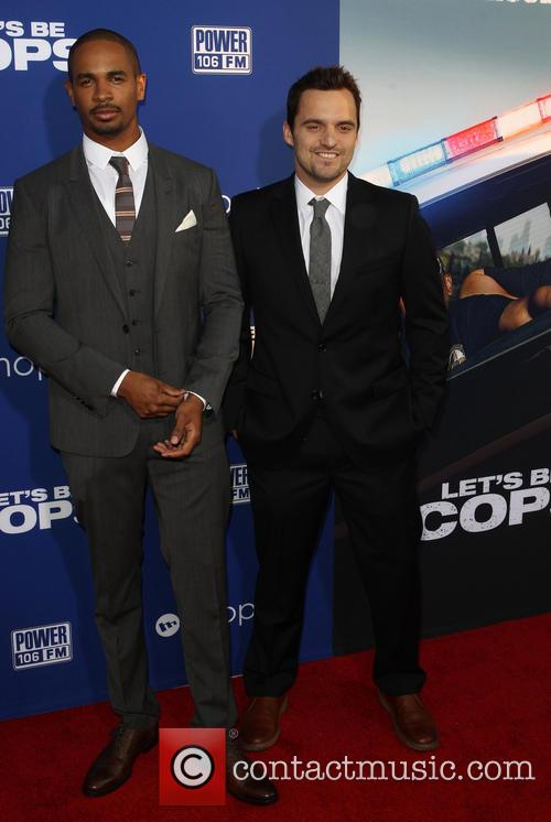 Damon Wayans Jr. and Jake Johnson 1