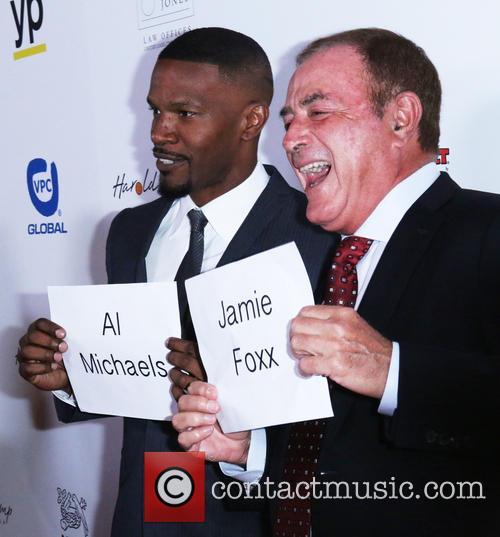Al Michaels and Jaime Foxx 2