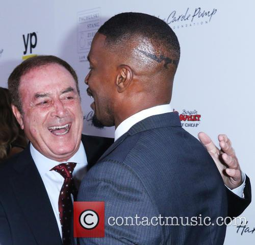 Al Michaels and Jaime Foxx 3
