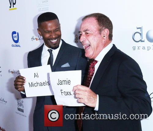 Al Michaels and Jaime Foxx 4
