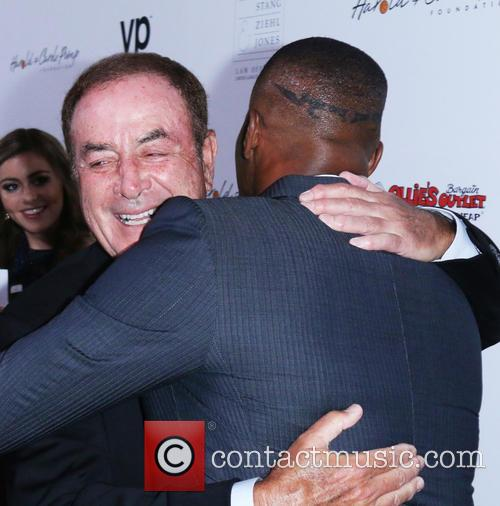 Al Michaels and Jaime Foxx