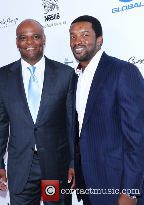 Warren Moon and Roger Cross