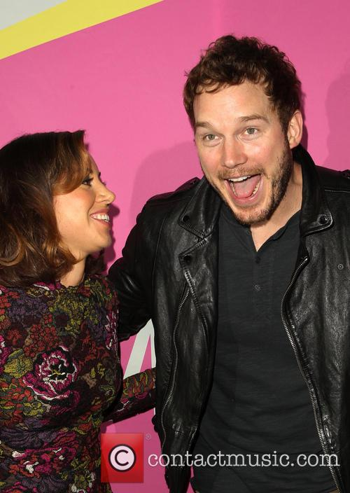 Aubrey Plaza and Chris Pratt 10