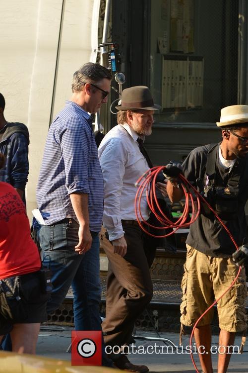 On the set of 'Gotham'