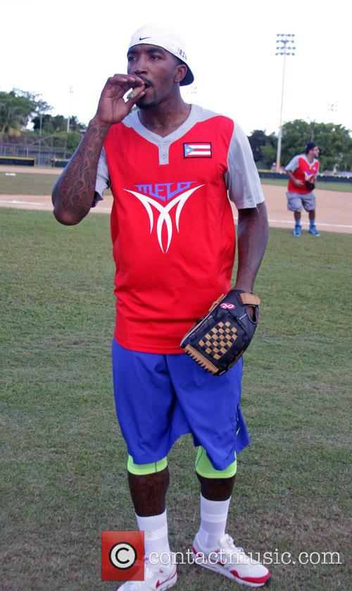 A Very Melo Weekend charity softball match