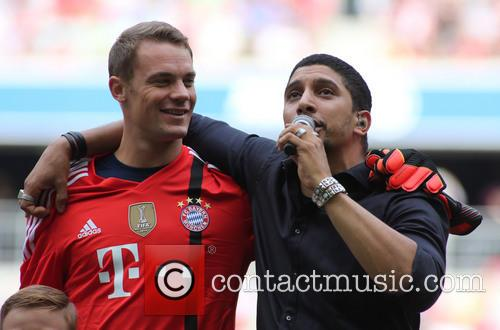 Munich, Manuel Neuer and Andreas Bourani