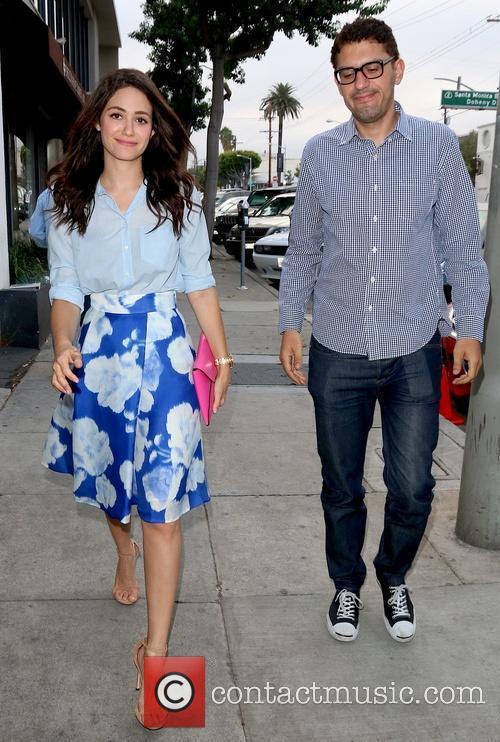 Emmy Rossum and Sam Esmail 8
