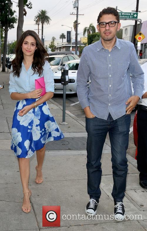 Emmy Rossum and Sam Esmail 9