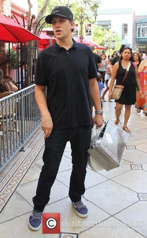 Jason Mewes shops at The Grove