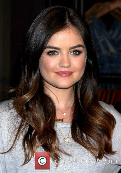 Lucy Hale makes a personal appearance at Hollister