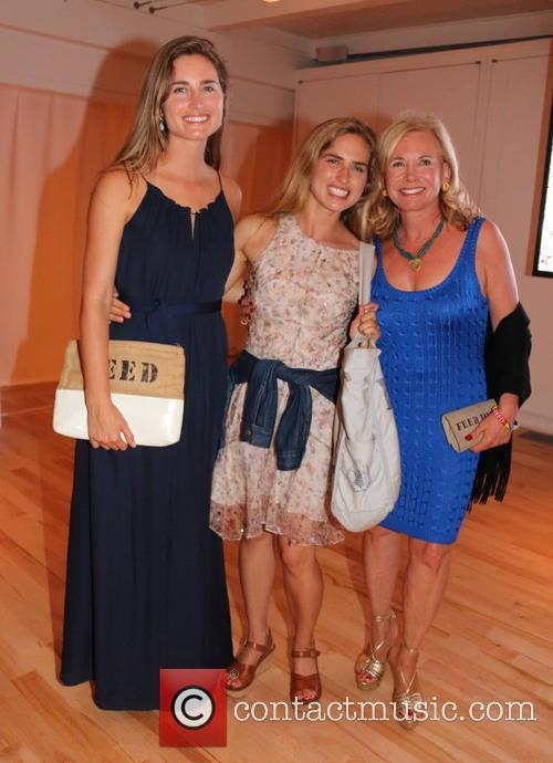 Lauren Bush, Ashley Bush and Sharon Bush 2