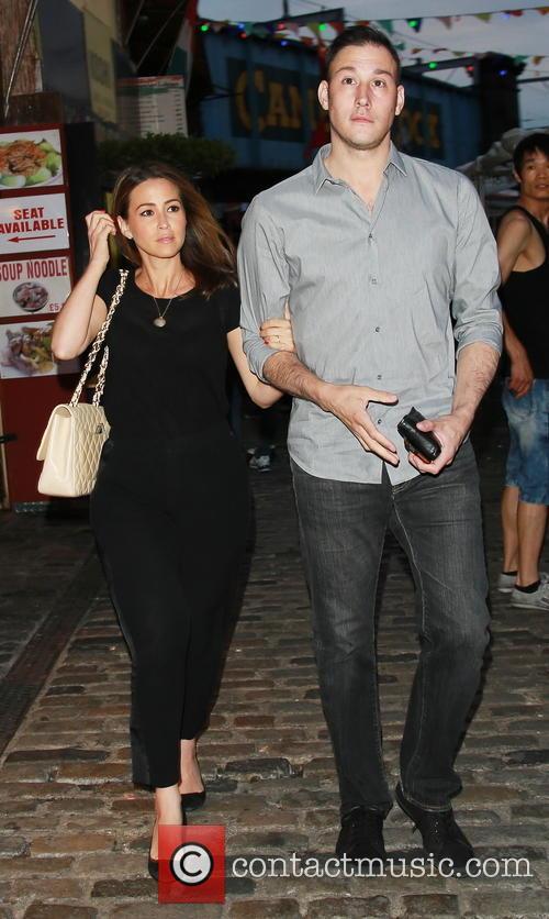 Rachel Stevens and husband Alex Bourne visit Shaka...