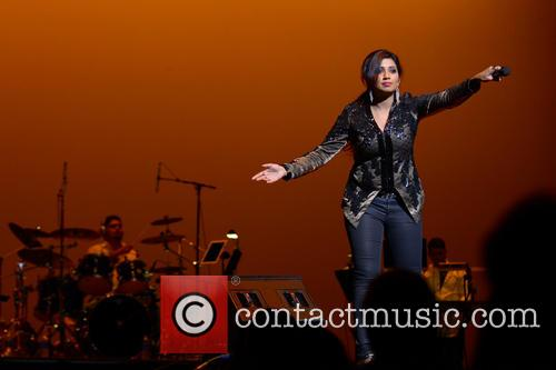 Shreya Ghoshal performs live at The Au-Rene Theater