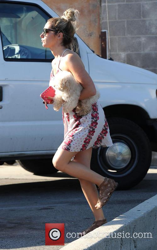 Ashley Tisdale and Maui 6