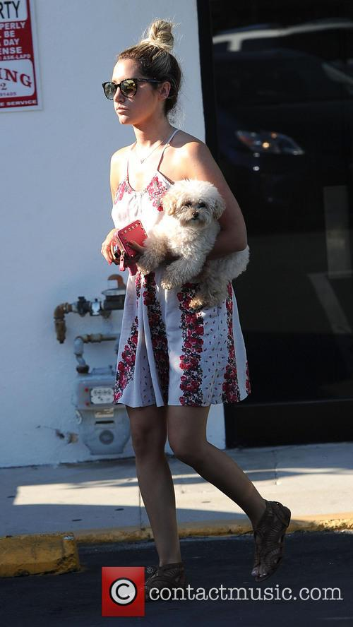 Ashley Tisdale and Maui 7