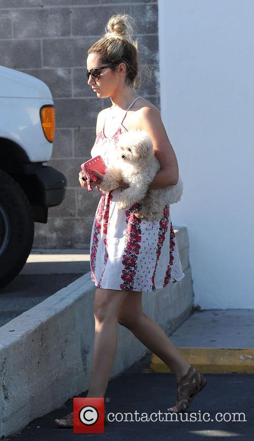Ashley Tisdale and Maui 8