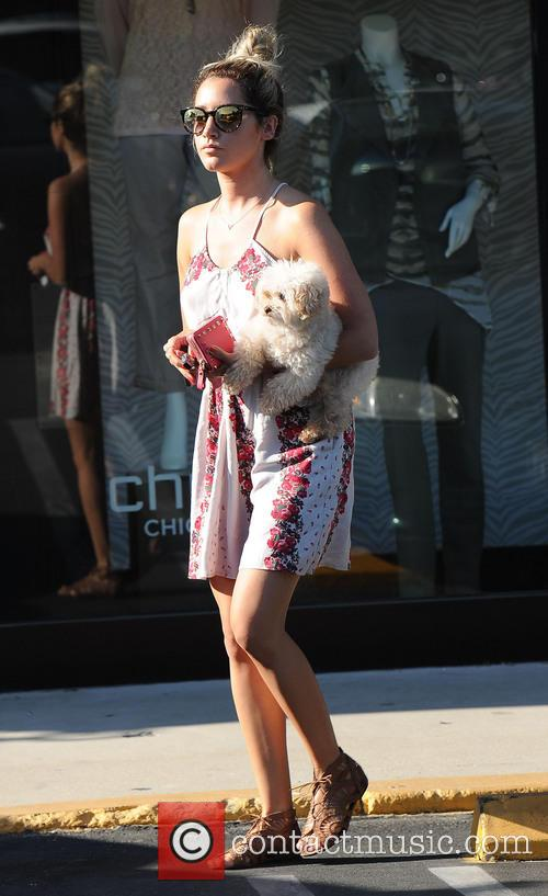 Ashley Tisdale and Maui 9