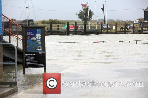 Hurricane Bertha brings high winds and rain across...