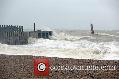 Hurricane Bertha brings high winds and rain across...