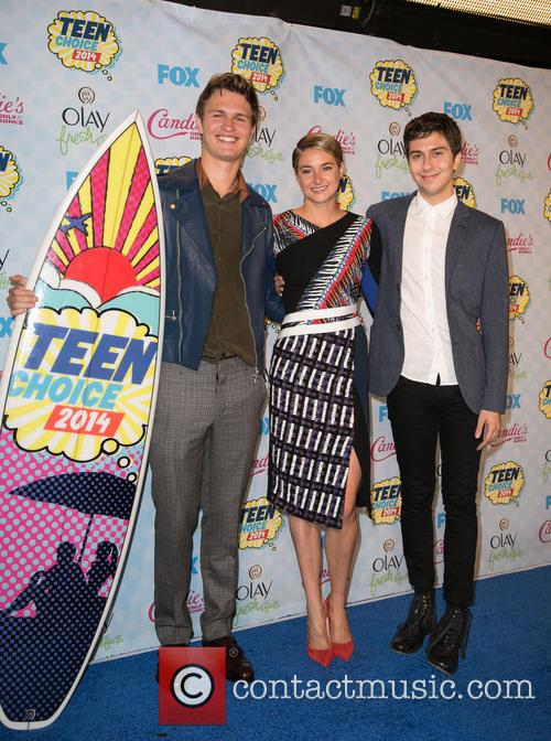 Ansel Elgort, Shailene Woodley and Nat Wolff 3