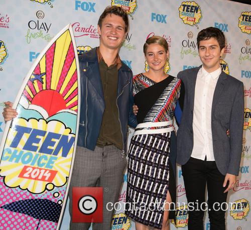 Ansel Elgort, Shailene Woodley and Nat Wolff 5